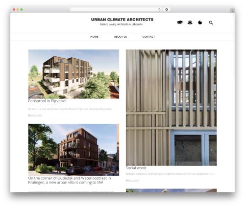 Heap WordPress website template - ucarchitects.com