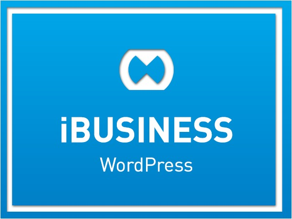 iBusiness business WordPress theme