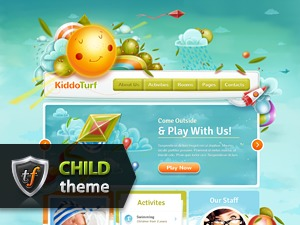 KiddoTurf Child WP template