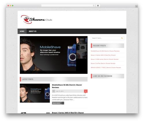 MegaMag theme WordPress free - uagrad.org