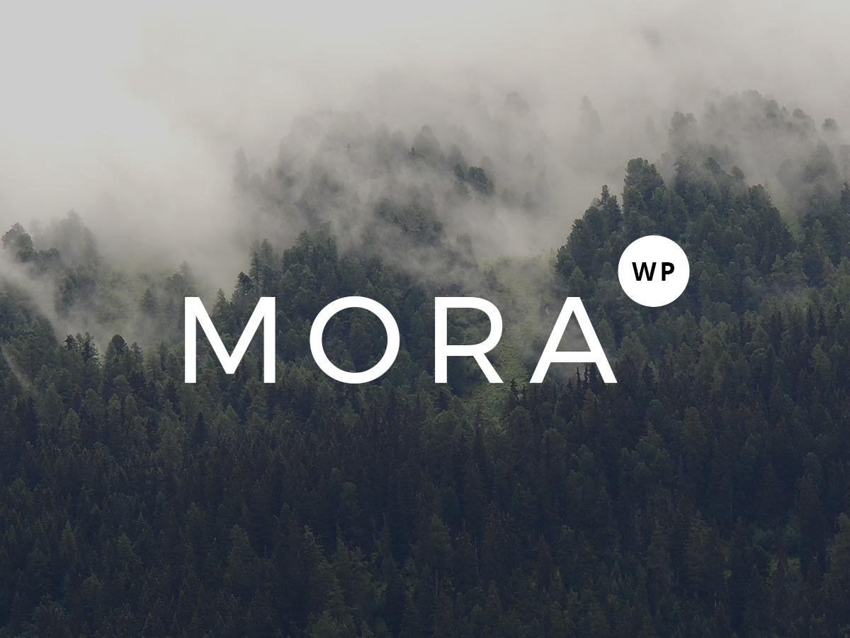 Mora best free WordPress theme