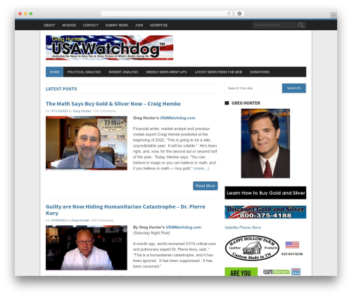 NewsMag by MyThemeShop WordPress ecommerce theme - usawatchdog.com