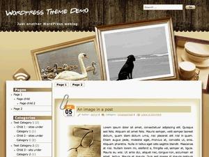 Photo Frame best WordPress template