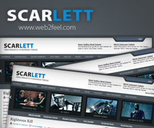 scarlett newspaper WordPress theme