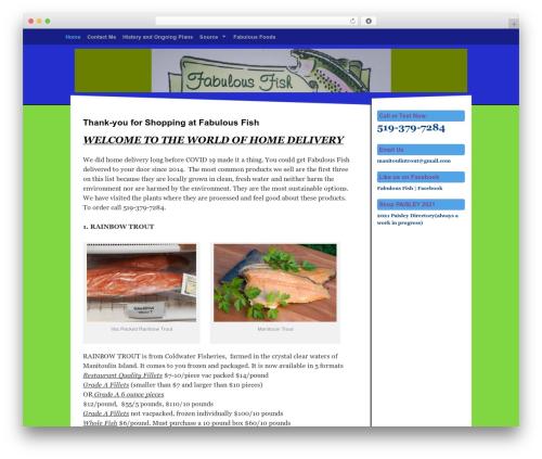 Free WordPress WordPress Ultra Simple Paypal Shopping Cart plugin - fabulousfish.ca