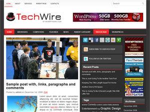 TechWire newspaper WordPress theme