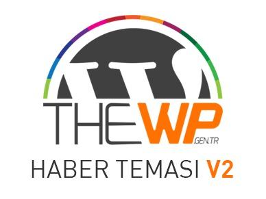 Template WordPress theWP - HABER TEMASI V2