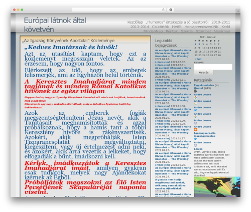 Theme WordPress Andreas04 - uzenet.blogolj.net