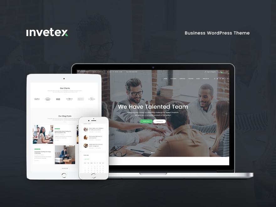Theme WordPress invetex