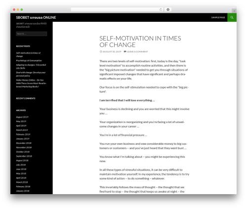 Twenty Fourteen best free WordPress theme - fsmbfoundation.org