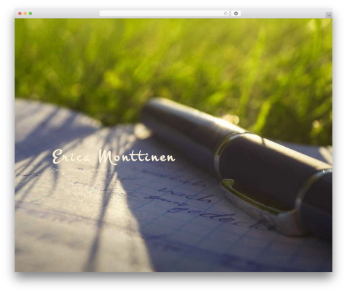Twenty Seventeen free WordPress theme - freelancewritererica.com