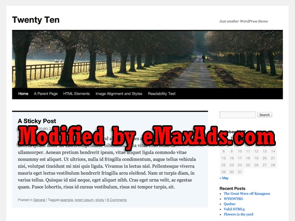 Wordpress website template fence dimensions by emaxads webgraphicsrus wordpress website template fence dimensions maxwellsz