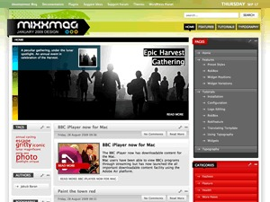 WP template Mixxmag Wordpress Theme