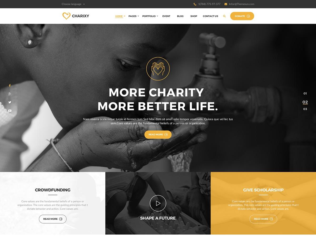 ZK Charixy WordPress theme