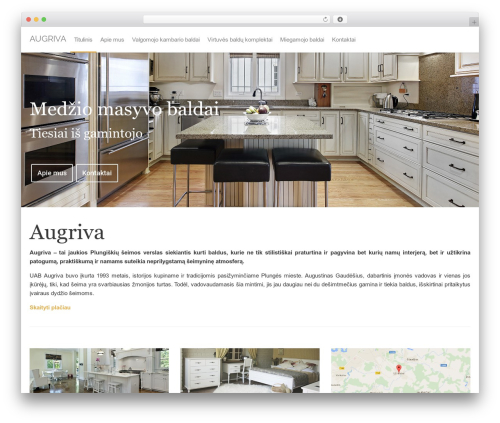 Best WordPress theme Off the Shelf - augriva.com