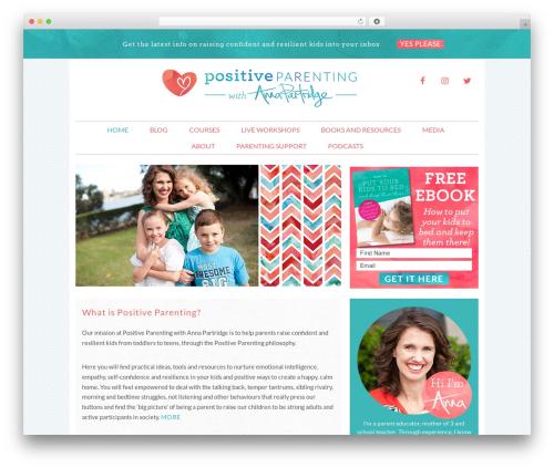 Free WordPress Easy Social Share Buttons plugin - annapartridge.com
