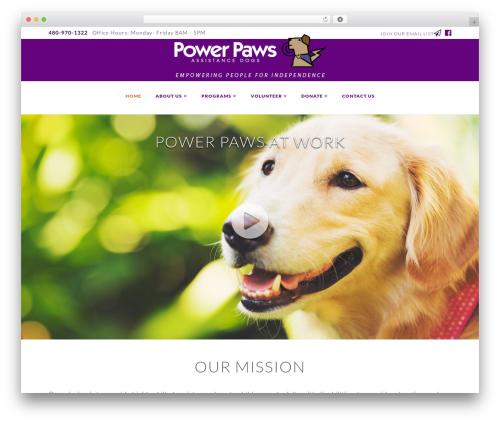 Theme WordPress X - azpowerpaws.org