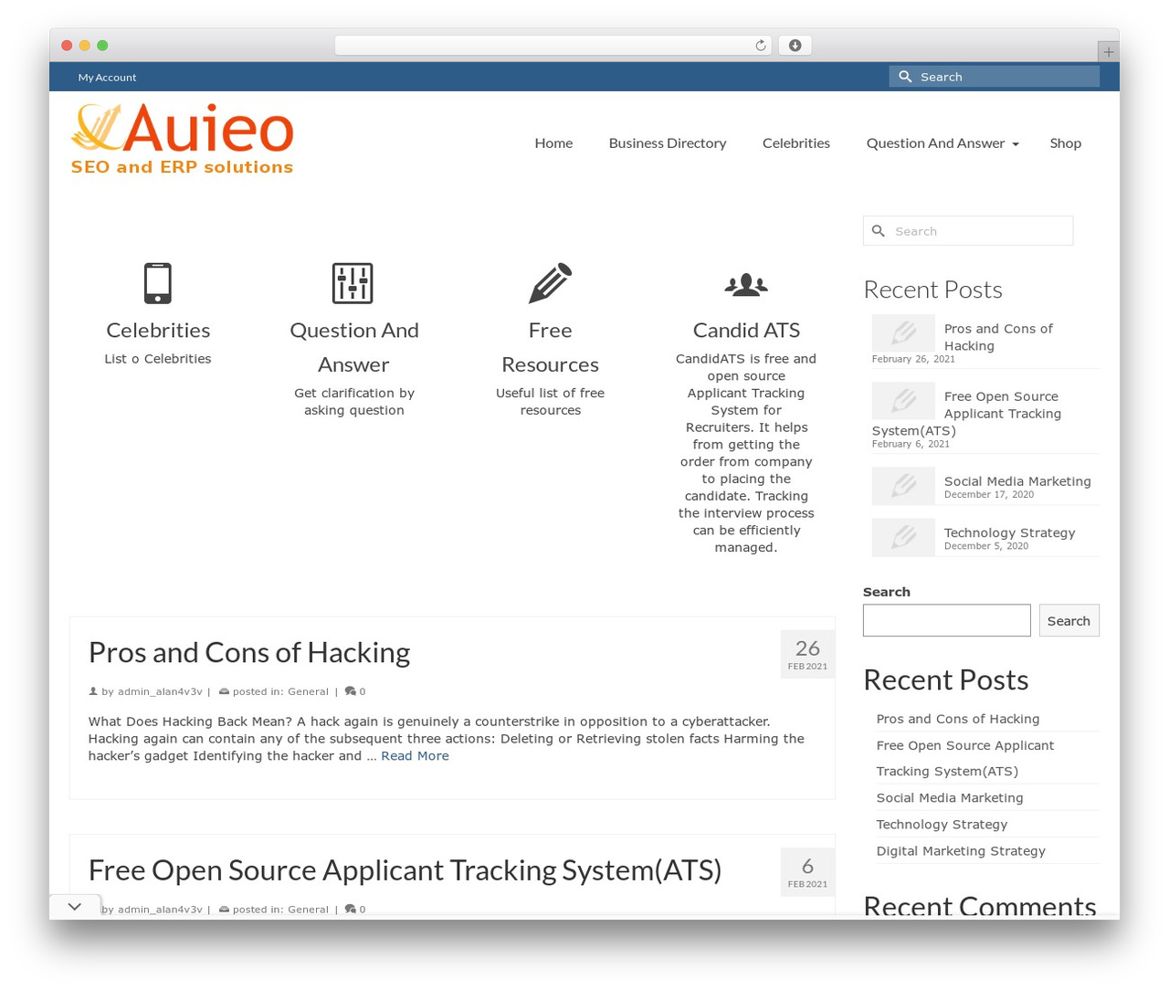 Virtue - Premium best WordPress template by Kadence Themes