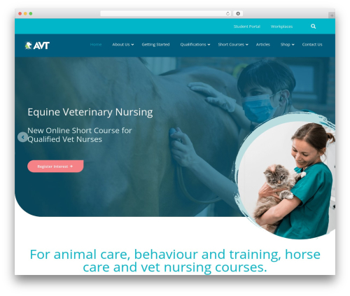 AVT WordPress theme - appvoc.com