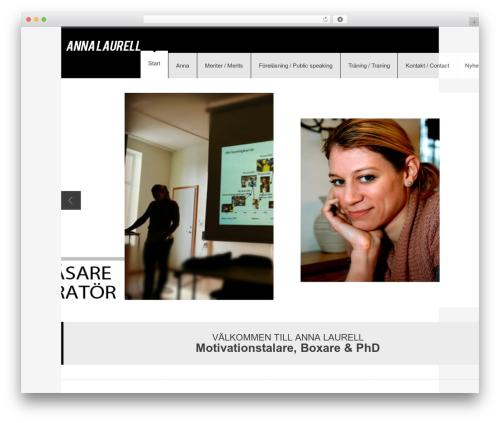 Best WordPress theme YellowProject Multipurpose Retina WP Theme - annalaurell.com