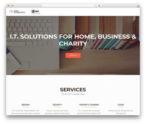 OnePirate free WP theme - areacomputers.co.uk