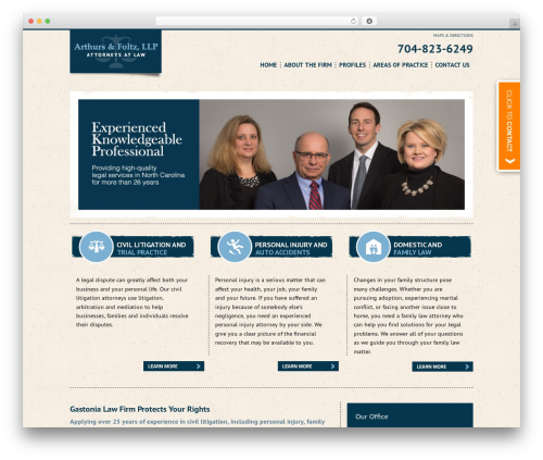 Project X v2 real estate template WordPress - arthursfoltz.com