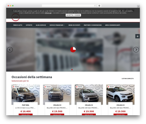 WebSparK Boilerplate Theme best WordPress theme - autosalonealma.com