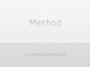 WordPress theme method-child