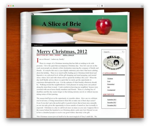 WordPress my-pinterest-badge plugin - a-slice-of-brie.com
