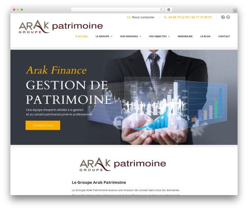 Lawyer Base WP template - arakfinance.com