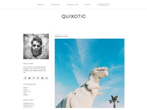 quixotic WordPress theme