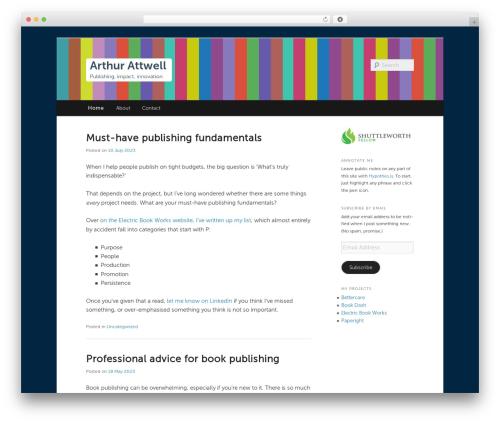 Free WordPress Mihdan: Ajax Edit Comments plugin - arthurattwell.com