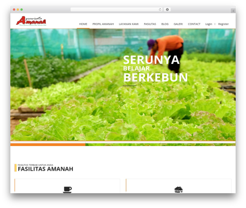 WordPress template Constructioner - agrowisataamanah.com