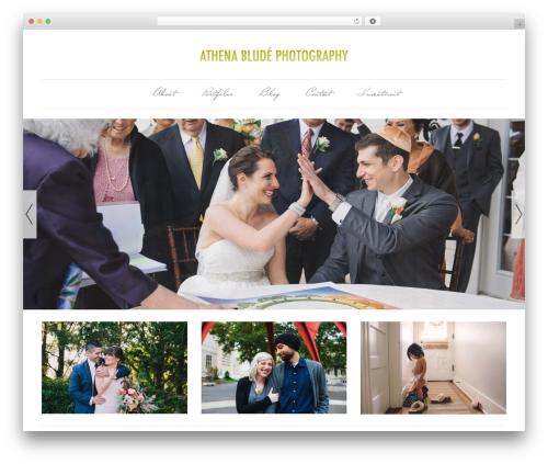 Dorado Blogsite (ITDR) best wedding WordPress theme - athenablude.com
