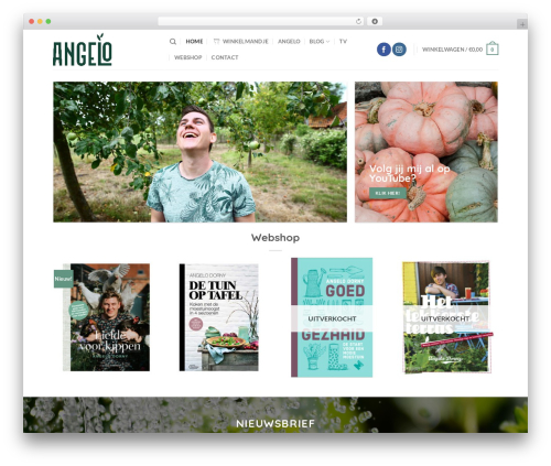 Flatsome WordPress video theme - angelodorny.be