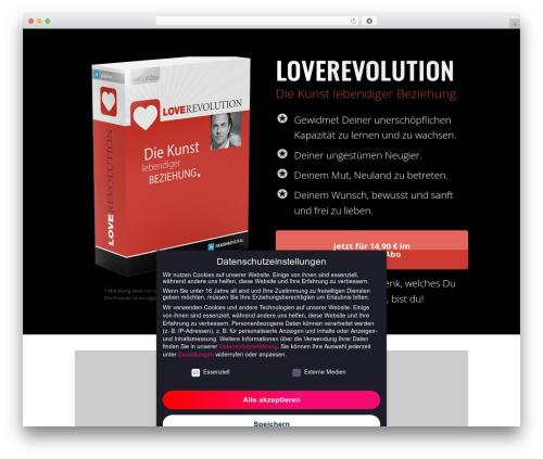 Free WordPress ARVE Advanced Responsive Video Embedder (YouTube, Vimeo, HTML5 Video …) plugin - akashadigital.net/produkte/love-revolution