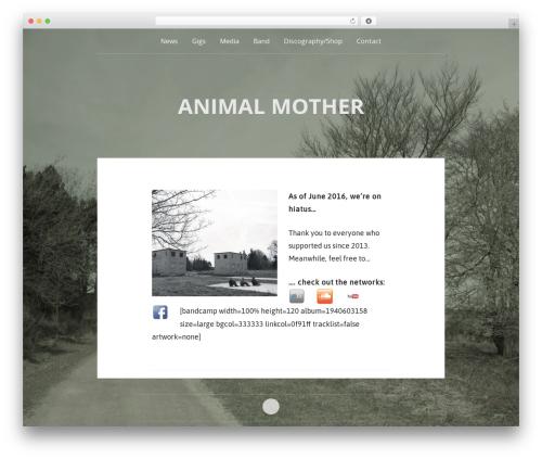 Theme WordPress Padhang - animal-mother.de