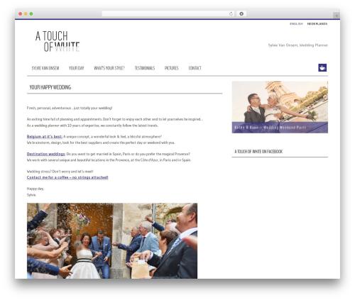 WordPress wooslider plugin - atouchofwhite.be