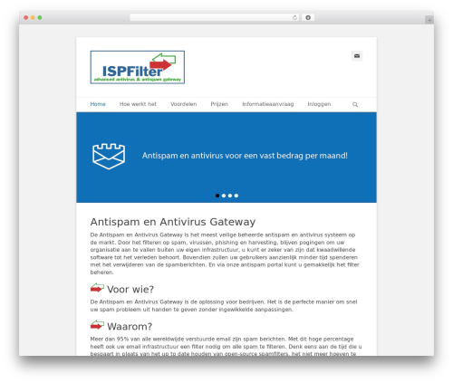 Catch Base Pro WordPress page template - antispam-gateway.nl