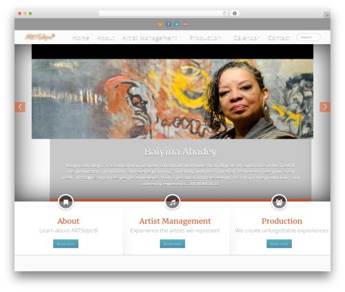 Clinto business WordPress theme - artsdpc.net