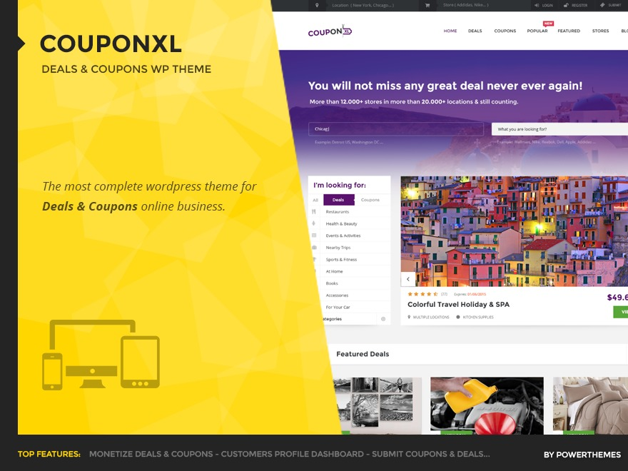 CouponXL WordPress template