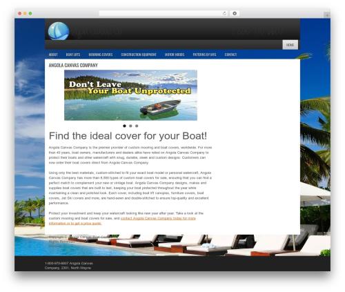 FastCar WordPress template for business - angolacanvascompany.com