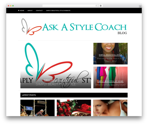Hickory WordPress theme - askastylecoach.com