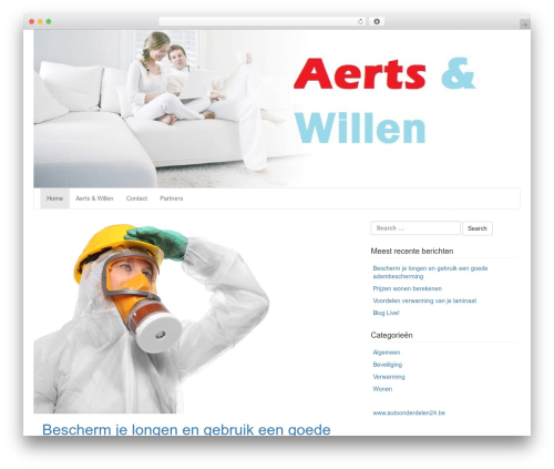 LineDay free website theme - aerts-willen.be