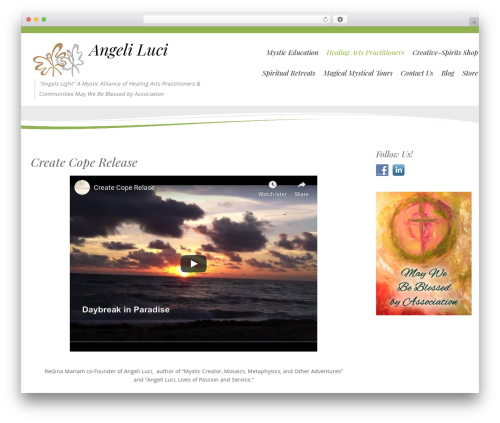 Longevity WordPress ecommerce theme - angeliluci.org/healing-arts-practitioners/create-cope-release