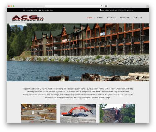 Bridge theme WordPress - argosyconstruction.ca