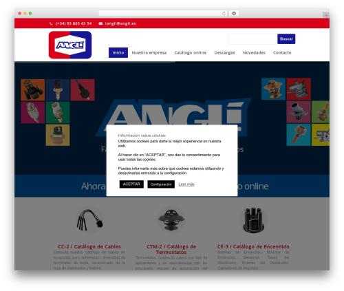 Centindu Portfolio, Business & eCommerce company WordPress theme - angli.es