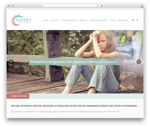 Doctor+ best WordPress template - assisttraumacare.org.uk