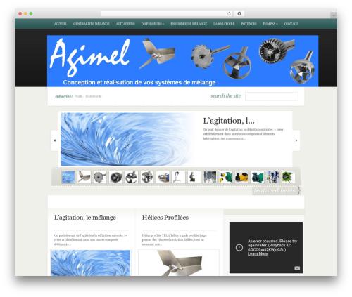 eNews theme WordPress - agimel.fr