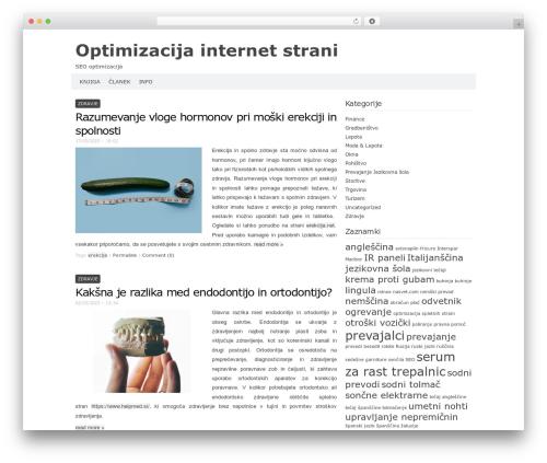 Theme WordPress Codium Extend - azurtrade.si